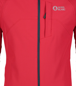 Jacheta barbati Nordblanc WISE light softshell 2in1 Popular red3