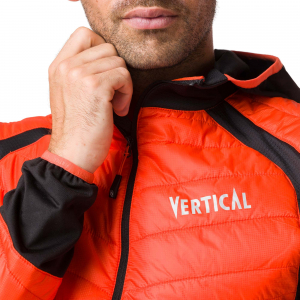 Jacheta barbati Vertical AEROQUEST HYBRID Orange black3
