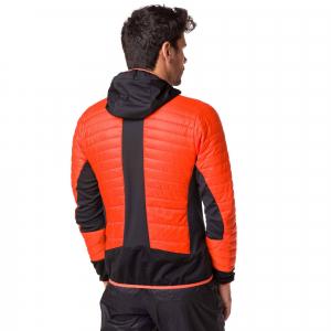 Jacheta barbati Vertical AEROQUEST HYBRID Orange black1