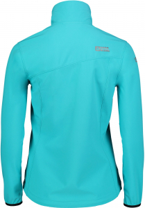 Jacheta dama Nordblanc ALTER light softshell 3LL 4X4 Str Pool blue1