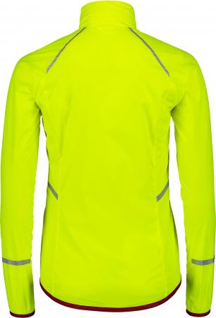 Jacheta dama Nordblanc BARRIER Bike ultra light safety yellow [3]