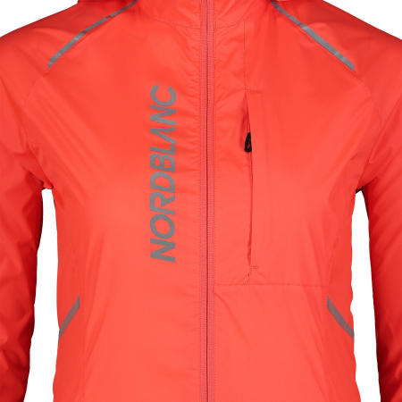 Jacheta dama Nordblanc FLEET Bike ultra light fiery coral [4]