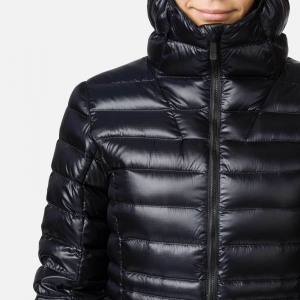 Jacheta dama Rossignol W LIGHT DOWN HOOD Black6