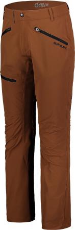 Pantaloni barbati Nordblanc TRAVELER outdoor brown oak [1]