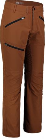 Pantaloni barbati Nordblanc TRAVELER outdoor brown oak [0]