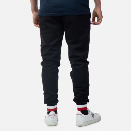 Pantaloni barbati Rossignol SWEAT Black1