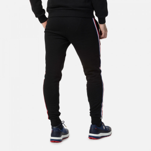 Pantaloni barbati Rossignol STRIPES SWEAT Black1