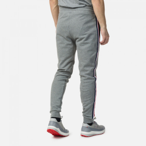 Pantaloni barbati Rossignol STRIPES SWEAT Heather grey1
