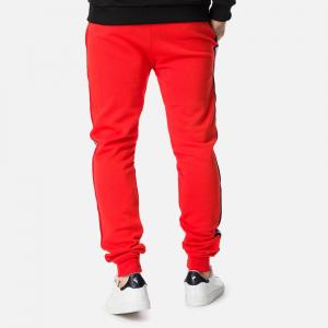Pantaloni barbati Rossignol STRIPES SWEAT Neon red2