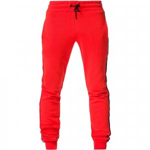 Pantaloni barbati Rossignol STRIPES SWEAT Neon red0