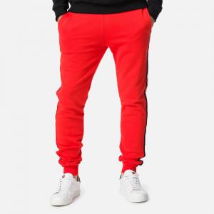 Pantaloni barbati Rossignol STRIPES SWEAT Neon red3