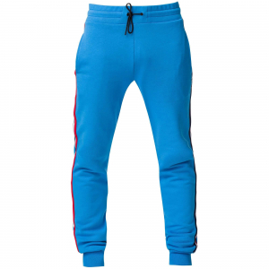 Pantaloni barbati Rossignol STRIPES SWEAT Royal blue0