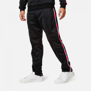 Pantaloni barbati Rossignol TRACK SUIT Black1