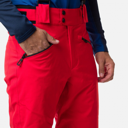Pantaloni schi barbati Rossignol CLASSIQUE Neon red [4]