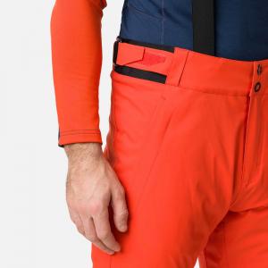 Pantaloni schi barbati Rossignol SKI Lava orange5
