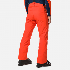 Pantaloni schi barbati Rossignol SKI Lava orange1