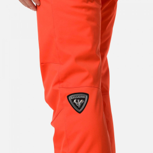 Pantaloni schi barbati Rossignol SKI Lava orange3