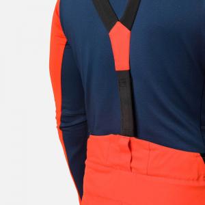 Pantaloni schi barbati Rossignol SKI Lava orange4