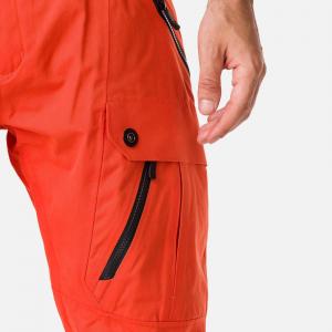 Pantaloni schi barbati Rossignol TYPE lava orange5