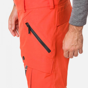 Pantaloni schi barbati Rossignol TYPE lava orange2
