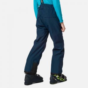 Pantaloni schi copii Rossignol BOY CONTROLE Dark navy1