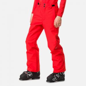 Pantaloni schi copii Rossignol BOY SKI Crimson0