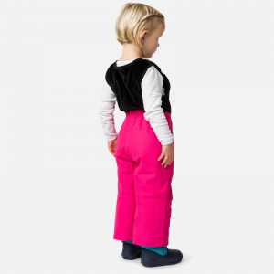 Pantaloni schi copii Rossignol KID SKI Pink fushia1