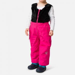 Pantaloni schi copii Rossignol KID SKI Pink fushia0