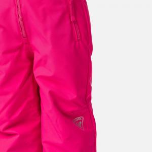 Pantaloni schi copii Rossignol KID SKI Pink fushia3