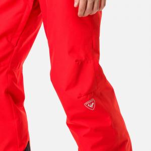 Pantaloni schi copii Rossignol BOY CONTROLE Crimson4