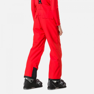 Pantaloni schi copii Rossignol BOY CONTROLE Crimson1