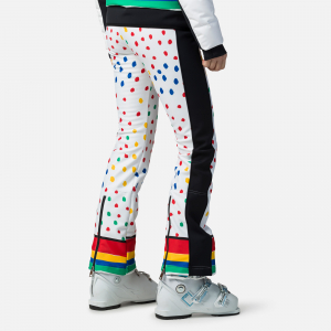 Pantaloni schi dama Rossignol JCC W DIXY PR SOFT Rainbow1