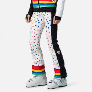 Pantaloni schi dama Rossignol JCC W DIXY PR SOFT Rainbow0