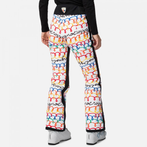 Pantaloni schi dama Rossignol JCC W JUDY PR Multico1