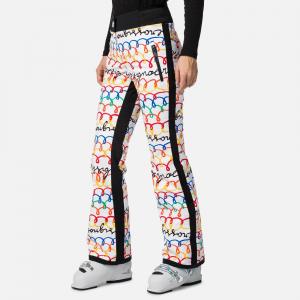 Pantaloni schi dama Rossignol JCC W JUDY PR Multico0