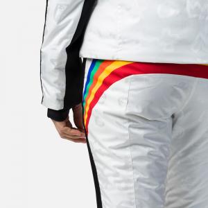 Pantaloni schi dama Rossignol JCC W RAINBOW White3