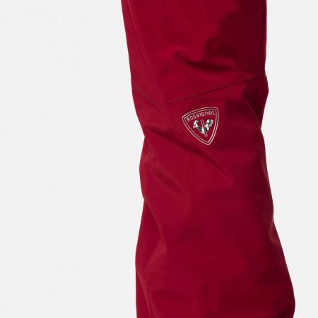 Pantaloni schi dama Rossignol W ELITE Dark red4