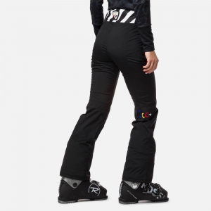 Pantaloni schi dama Rossignol JCC W NUITI GLOBAL Black1