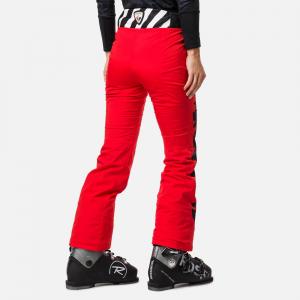 Pantaloni schi dama Rossignol JCC W NUITI Red1