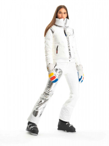 Pantaloni schi dama Rossignol JCC W NUITI White [5]