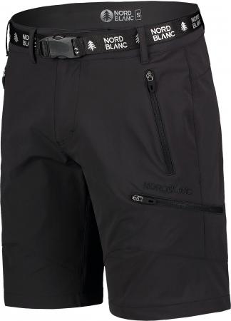 Pantaloni scurti barbati Nordblanc BUCKLE outdoor black [1]