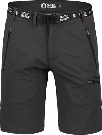 Pantaloni scurti barbati Nordblanc BUCKLE outdoor graphite [3]