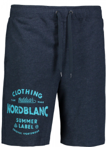 Pantaloni scurti barbati Nordblanc PURPORT cotton fitness Iron navy0