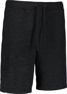Pantaloni scurti barbati Nordblanc PURPORT cotton fitness Graphite melange0