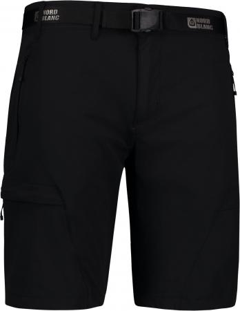 Pantaloni scurti barbati Nordblanc STRAIGHT Outdoor extreme black [0]