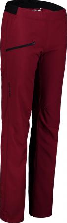 Pantaloni scurti dama Nordblanc HIKER ultralight outdoor burgundy red [0]