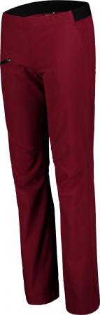 Pantaloni scurti dama Nordblanc HIKER ultralight outdoor burgundy red [1]