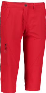 Pantaloni scurti dama Nordblanc RITZY Outdoor light dryfor Dark red0