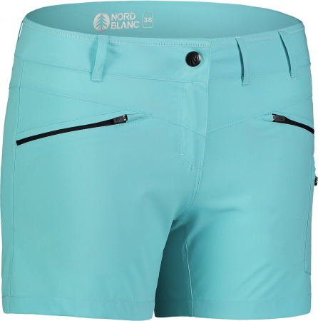 Pantaloni scurti dama Nordblanc SIMPLICITY outdoor light polar blue [0]