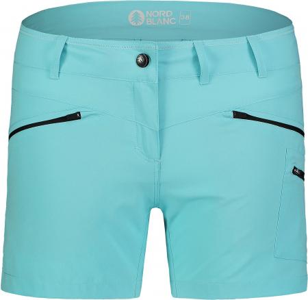 Pantaloni scurti dama Nordblanc SIMPLICITY outdoor light polar blue [2]
